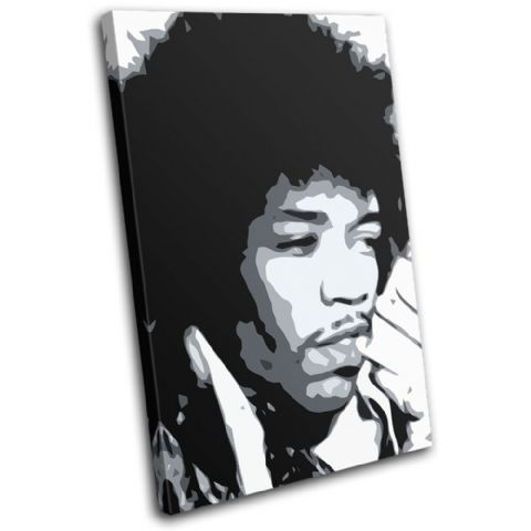 Jimi Hendrix Iconic Celebrities - 13-1952(00B)-SG32-PO